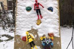 Superhelden-klettern